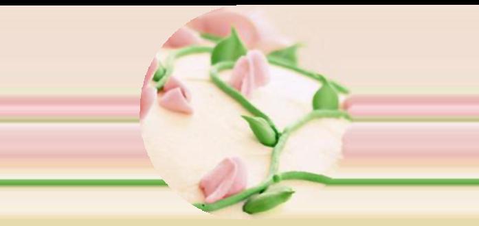 Бутоны роз из масляного крема