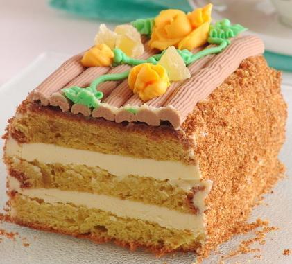 рецепт торт сказка если круглая форма