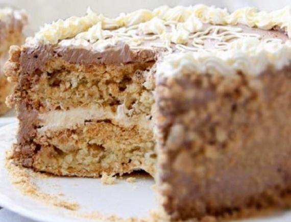 торт киевский пошаговый рецепт с фото