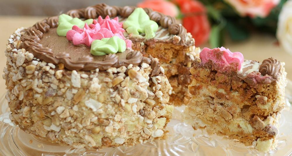 торт киевский рецепт калорийность