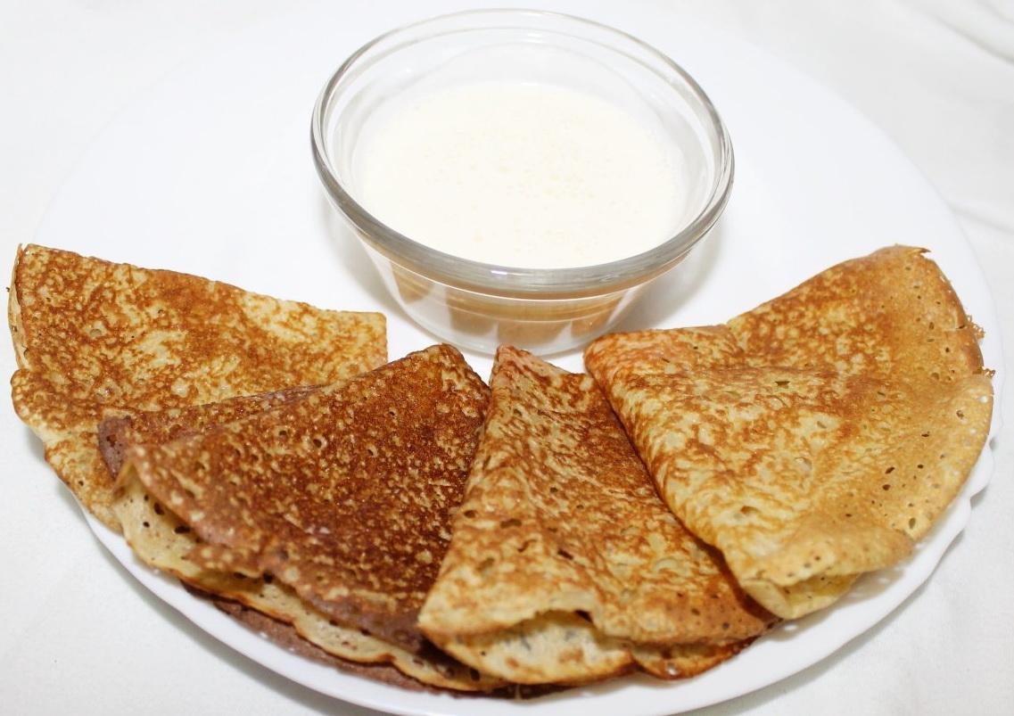 Блины с дырочками на молоке пошаговый рецепт пошагово в