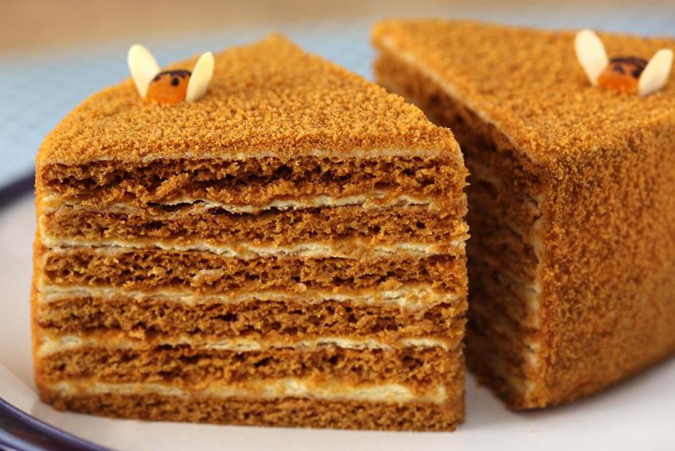 оригинальный рецепт медовых тортов
